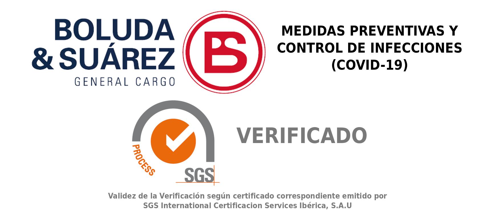 BS Cargo certificación COVID